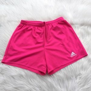 Adidas size small climalite  pink silky shorts